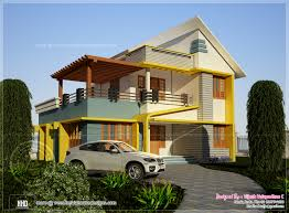 4 bedroom home 176 square meter 4 bedroom house rendering home kerala plans