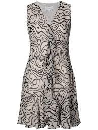 draped geometric maxi dress sand black designer style id h1214