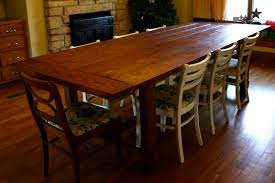 Big Wood Dining Table Delightful Wooden Dining Table Design Bug Ideas Rustic Dining Room