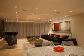 Living Room Recessed Lighting by Brazil Recessed Lights Look Living Room Contemporary With Area Rug