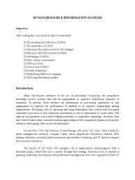 Hris Resume Sample by Hris Introduction Request For Proposal Human Resource Management