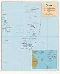 tonga map tonga map