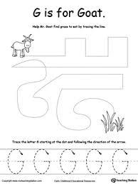 the letter g is for goat myteachingstation com