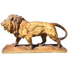 barye lion sculpture lion sculpture by antoine louis barye for sale at 1stdibs