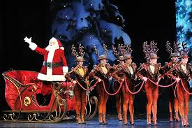 broadway photo 1 of 14 santa and the rockettes