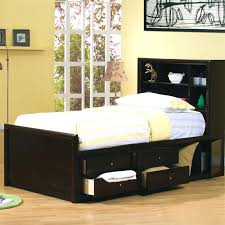 twin bed with bookcase headboard and storage twin size headboard plans image of large twin bed with bookcase