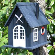 Blue Bird Home Decor Decorative Bird Houses With Beautiful Furnishing Added The