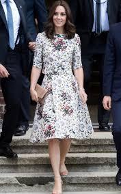 British Flag Dress The Duchess Of Cambridge Flies The Flag For British Design In Erdem