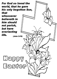 religious easter coloring pages chuckbutt com