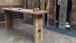 Wooden Bar Table High Table Thors Design