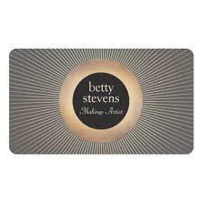 makeup artists business cards makeup artist business card templates bizcardstudio