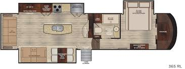 5th Wheel Trailer Floor Plans by 2017 Vanleigh Vilano 365rl Good Life Rv