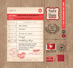 Design Card Wedding Invitation Library Card Wedding Invitations Festival Tech Com