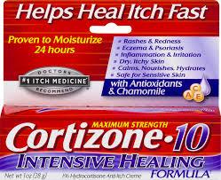 cortizone 10 maximum strength intensive healing formula 1