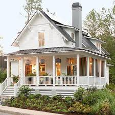 House With A Porch | i sooooo want an old farm style house with a porch all the way