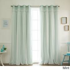 Top Curtains Inspiration Curtain Surprising Lace Blackout Curtains Images Inspirations
