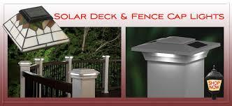 Solar Light For Fence Post - solar garden lights solar lamp posts solar landscape lighting