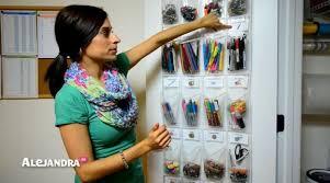 alejandra organization supply organization how to organize small supplies at home