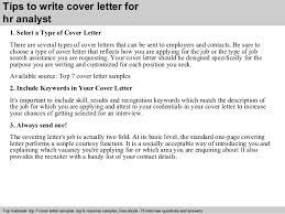 Hr Analyst Resume Sample by Hr Analyst Cover Letter