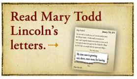 mary todd lincoln letters u0026 records wttw chicago public media