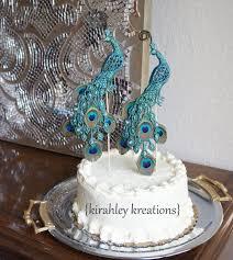 peacock wedding cake topper peacock wedding cake topper idea in 2017 wedding