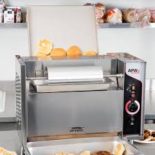 Catering Toaster Wyott M 95 3 Vertical Conveyor Bun Grill Toaster With 3