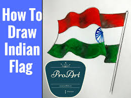 Story Of Indian National Flag Drawn Flag Indian National Flag Pencil And In Color Drawn Flag