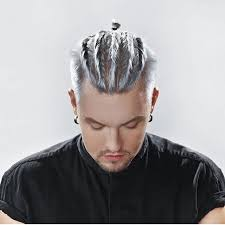 haircuts for white hair 924 best mens colored hair images on pinterest coloured hair