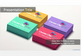 business card powerpoint template eliolera com