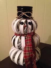 mason jar ring snowman craft ideas pinterest snowman ring