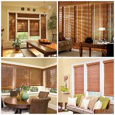 Wood Blinds For Windows - choosing between wood vs faux wood blinds behome