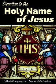 holy devotion devotion to the holy name of jesus png