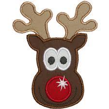 rudolph reindeer face