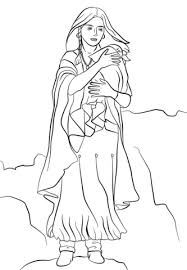 Sacagawea Coloring Page sacagawea coloring page free printable coloring pages