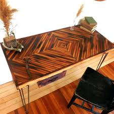 recycled wood desk 53 winsome view in gallery reclaimed wood desk diamond