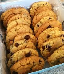 whatcha makin u0027 now chocolate chip crunch cookies cake mix cookies