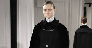 balenciaga autumn winter 2013 ready to wear show report british