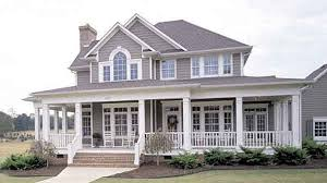 house with a wrap around porch southern house plans with wrap around porch design jbeedesigns