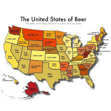 Wisconsin Breweries Map by These Are The Most Likely Beers To Be On Menus In Every State