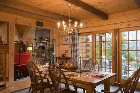 open floor plan log homes kitchens dining timberhaven log timber homes