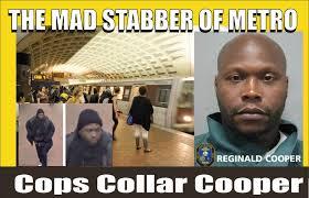 Reginald Meme - the mad stabber of metro captured rockville police nab reginald