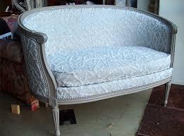ottomane canapé canapé gondole xvi dit ottomane atelier droit fil tapissier