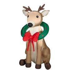Christmas Decorations Outdoor Reindeer by 19 Best Outdoor Reindeer Christmas Decorations Images On Pinterest
