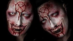 vampire special fx halloween makeup tutorial youtube