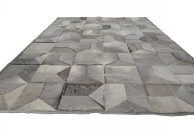 Grey Cowhide Rug Taupe Gray Patchwork Cowhide Rug Envelope Design By Shine Shine Rugs