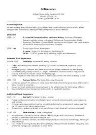 proper resume format entry level resume format resume format 17