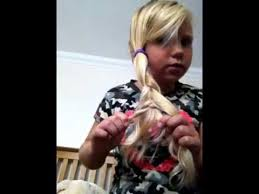 hair cuts for a 7 year old a 7 year olds guide to 5 easy hair styles youtube