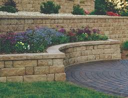 concrete block retaining walls sacramento block pavers