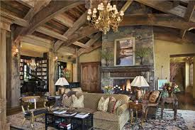 CountryRustic Living  Family Room By Jerry Locati - Great family rooms