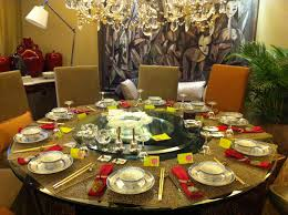 Dining Table With Food Formal Dinner Table Settings Best Gallery Of Tables Furniture